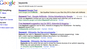 Keywords Matter