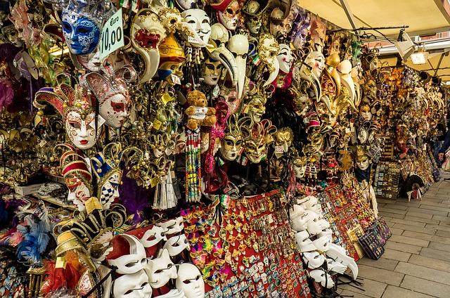 Masks, Venice, Masquerade - Free image - 337980