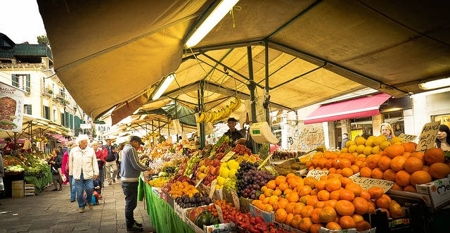 Vegetable Market, Fruit Market - Free image - 337971